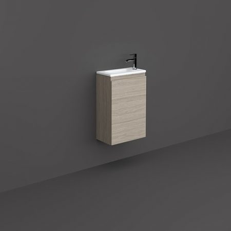 RAK-JOY - JOYWH040EGY Wall Hung Vanity Unit, Grey Elm