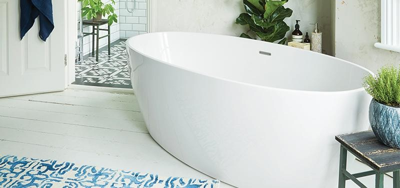 Waters I Line Stream Freestanding Bath Beyond